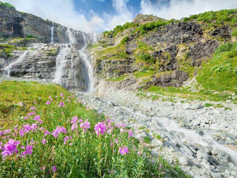 Архыз Софийские водопады