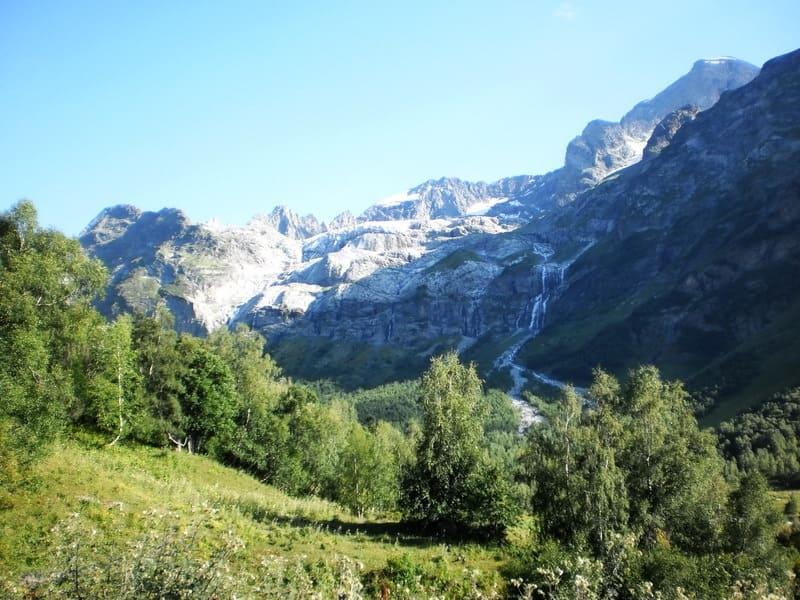 Водопады Архыза